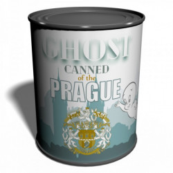 Canned Ghost of the Prague Unique gift from Praha Specter Czech Republic Phantom Ghostbusters Prank gift Wraith Silly gift Spiri