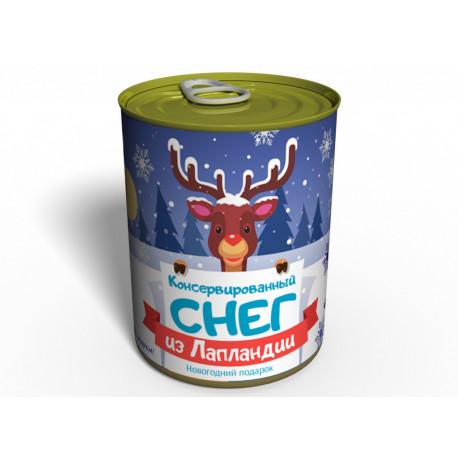 Консервированный Снег из Лапландии - Подарок на Новый Год - Необычный подарок