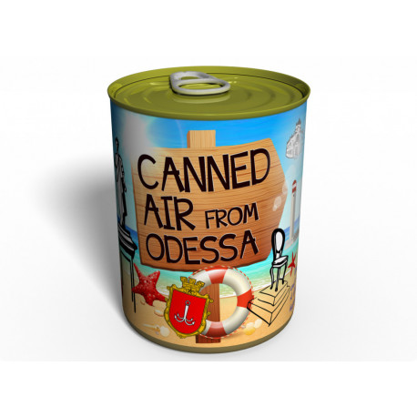 Canned Air From Odessa - Unique Gift From Ukraine